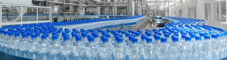 Укупорка розлива бутилированной воды
